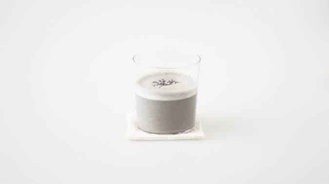 黒ゴマ豆乳甘酒