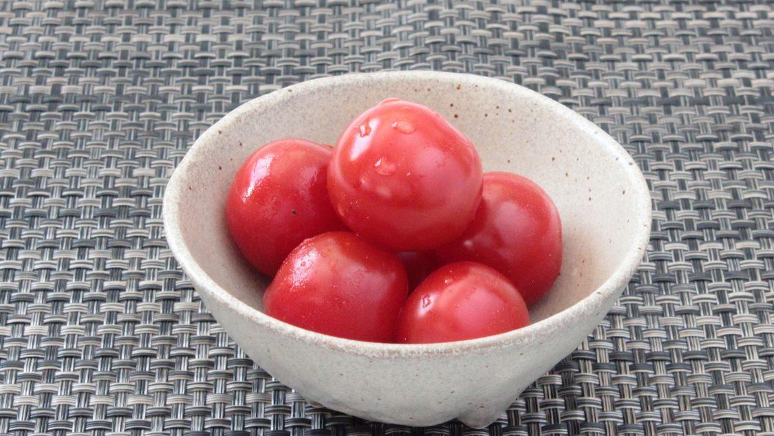 ミニトマトの塩麹漬け