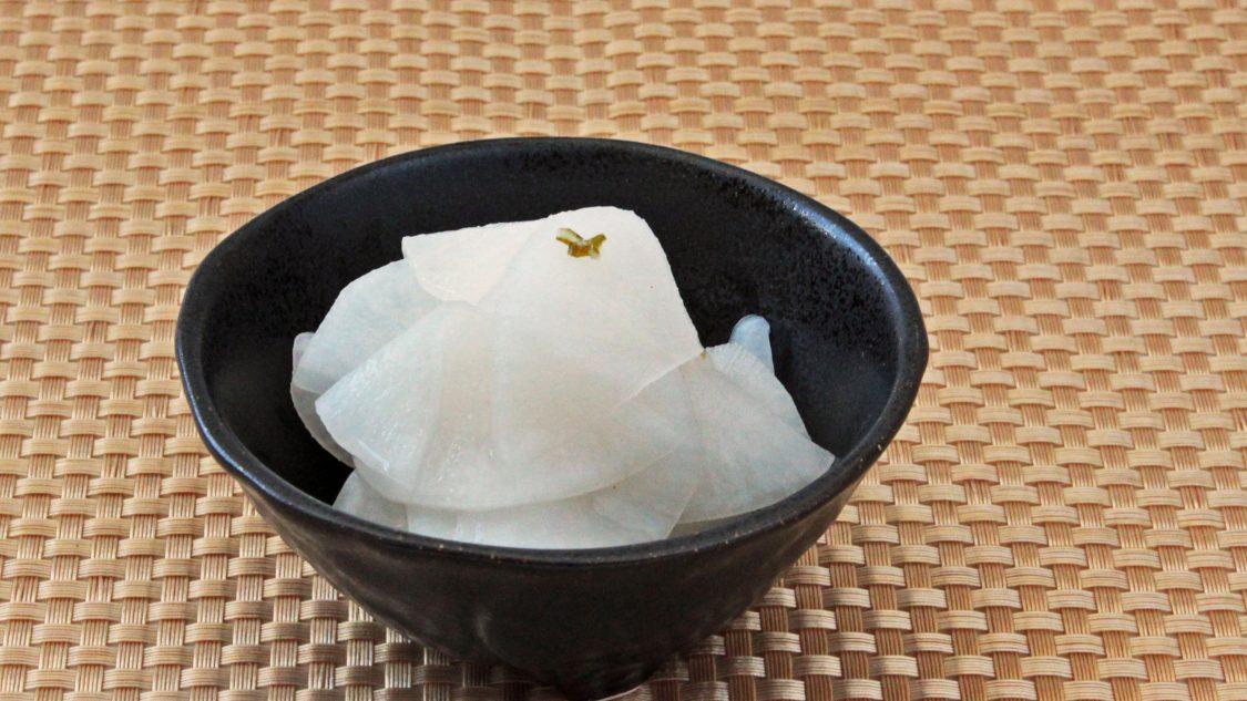 塩麹 大根の甘酢漬け